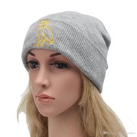 Wholesale Owl Warmer - 2016 New Direct Selling Cotton Acrylic Adult Unisex Bonnet Femme Ovoxo Owl Winter Cap Knitted Hats Fashion Cold Warm Beanies free ship 1718