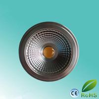 e27 шаровые шаровые лампы оптовых-Новый светодиодный прожектор AR111 с регулируемой яркостью света 15 Вт GU10 / E27 / G53 с лампой без бликов AC85-265V / DC12V 100 Вт Галоген Эквивалент,