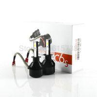 Wholesale H4 Led Yellow - H1 AUTO car head lamp LED Headlight Plug&Play Auto 6400lm 60W Kit Headlamp Xenon H1 H4 H3 H7 H8 H9 H11 9005 9006 HB3 HB4 880 881