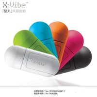 Wholesale Wholesale X Vibe Speaker - Discount Pills X-ray VIBE resonance speaker enhanced cool pill for the second generation vibration sound X - vibration coldplay VIBE capsule