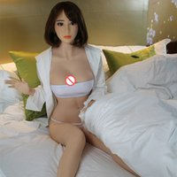 Wholesale Small Breast Sex - Hot sales good experiance free shipping new style smooth skin full body silicone high quality soft sex doll small breasts