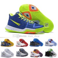 Wholesale Cheap Synthetic Weave - Kyrie Irving III Weave Mens Basketball Shoes Wholesale Kyrie 3 Athletics Sports Cheap Irving Sneakers Top Quality Size 40-46 Free Shipping