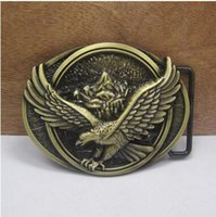 Wholesale In stock new cm width blet antique bronze eagle buckle fashion accessories Belts Accessories zinc alloy hot sale