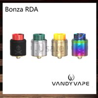 Wholesale Fixing Screws - Vandy Vape Bonza RDA 24mm Single or Dual Coil Fixed Screw Clamp Post For Squonk and 510 PIN Designed by The Vaping Bogan 100% Original