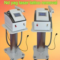 Wholesale Laser Tattoo Cleaner - 2017 lastest 1064nm 532nm Q Switch Nd Yag Laser Tattoo Removal machine EYEBROW Cleaner Pigmentation remover Skin Care beauty Equipment