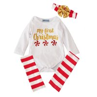 df6234d9af6 New Kids Clothing Sets Christmas Jumpsuits Winter Autumn Spring Long Sleeve  Baby Casual Suits Infant Rompers 0-24M