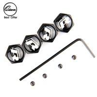 Wholesale Vw R Line Badge - Lockable Anti-Theft Dust Cap Tire valve caps With Car Logo Badges Emblems for VW R line