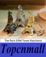 Wholesale Baby Shower Keychains - Rutsic Wedding Paris Eiffel Tower Keychains baby shower Souvenir wedding gifts for guests Vintage Decoracao Casamento