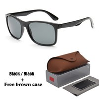 Wholesale poly styrene - Brand Designer Fashion sunglasses Men and Women driving glasses UV Protection Sport Vintage Sun glasses Retro Eyewear with free brown cases