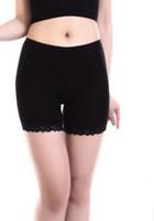 Wholesale Body Shape Leggings Wholesale - Langsha Underwear Women Lingerie Shape Body Modal+Lace Secure Leggings 3 Pieces
