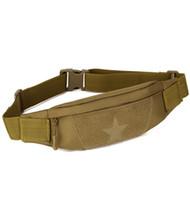 Wholesale tactical hip pouch resale online - 50pcs Anti theft Men Durable Fanny Waist Pack Belt Hip Bum Tactical Cycling Pouch Outdoor Sport Chest Bag