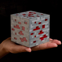Wholesale Minecraft Kids - 8*8*8cm Original Minecraft Light Redstone LED Lamp Toy 2 Color Night Light Touch LED Lamp Minecraft Toys for Kids Gift