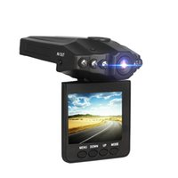 2,5 '' Zoll Auto-Schlag-Nocken-Auto-Recorder DVR-Kamera-System Black-Box-H198 Nachtversion Video Recorder 1080P-Schlag-Kamera 6 IR LED