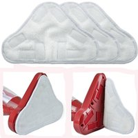 Wholesale Reusable Mopping Cloth - Wholesale-3pcs lot Practical Reusable Replacement Washable Triangular Steam Mop Microfiber Cloth Pad Cover for Mop YL838494