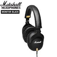 ingrosso può linee-Marshall Monitor Cuffie con microfono Sport Cuffie Stereo Hi-Fi Cuffie DJ Can Change Line Mestolo M-ACCS-00152 Noise Cancelling