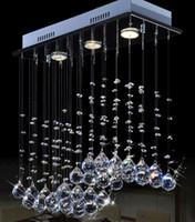 ingrosso luce soffitto a cristallo rettangolare-controsoffitto cucina illuminazione a led moderna lampada da soffitto in cristallo di lusso rettangolare soffitto lampada di cristallo 9080D03C #