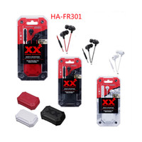 Wholesale remote pc iphone - HA-FR301 Headphon Earphones XX Xtreme Xplosives 3.5mm In-Ear Headset with Remote Microphone Extreme Deep Bass for iPhone Samsung PC with Box