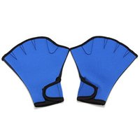 Soccer paddle art - 1 Pair Fingerless Duck Sphere Webbed Gloves for Swimming Swim Surfing Sports Paddle Training Water Aerobics S M L Size168