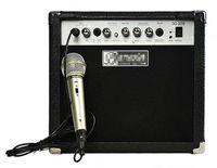 Wholesale Amplifier Guitars - 20w Acoustic Guitar Electric Guitar Amplifier guitar speaker with MIC Musical instruments accessories guitar parts