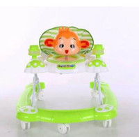 Wholesale Toddler Walker Car - Newly Baby Walker with Wheels Toddler Safety Anti-Rollover Seat Music First Steps Toys Infant Walkers Multifunctional Car