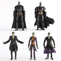 Wholesale Dc Superheroes Action Figures - 7 inches NECA DC Comics Superhero Batman Superman The Joker PVC Action Figure Collectible Toy kids toy marvel
