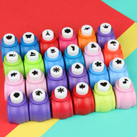 Wholesale Wholesale Craft Puncher - Mini 10pcs Scrapbook Punches Handmade Cutter Card Craft Calico Printing DIY Flower Paper Craft Punch Hole Puncher Shape Free Shipping