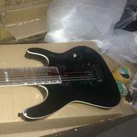 ingrosso chitarre molto elettriche-Custom Shop Black 7 Strings Chitarra elettrica monopezzo Very Beauty Tremolo device 7 String Guitars A2356
