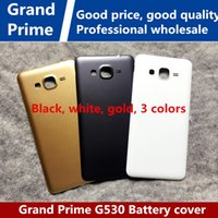 Wholesale Back Cover Grand - Good quality for Samsung GALAXY Grand Prime G5308W G5306W G5309W G530 battery back cover phone shell back shell