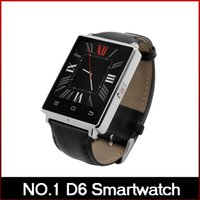 Android black browser - NO D6 Smart Watch MTK6580 Android Smartwatch support what s app facebook Heart Rate Browser for Android