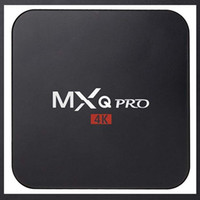Wholesale mx2 tv box for sale - Group buy Hot MX2 MXQ PRO Amlogic S905W Quad Core Android TV BOX With Customized K Media Player