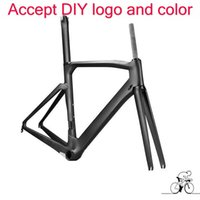 Wholesale Carbon Race Frame - Super light T1100 1k bicycle carbon bike frame 170 bob grey color road bike frameset bb68 bb30 toryca race bike frameset free shipping