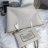Wholesale Zipper Side Bag - classic fashion hot sale woman female lady letter leather two side available letter pattern totes shopping bag reversible big handbag