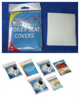 Wholesale Wholesale Padded Seat - CHEAPEST!!! Disposable Toilet Seat Cover Mat eco-friendly paper Toilet Paper Pad For Travel Camping Bathroom Accessiories