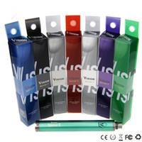 mejor bateria de voltaje variable al por mayor-giro de la visión II batería v2 batería giro Voltaje variable 1600 mah mejor batería de cigarrillo electrónico para ce4 ce3 protank
