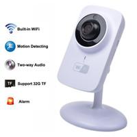 безопасность систем обнаружения оптовых-V380 Беспроводная IP-камера Onvif 720P IPC Mini wi-fi CCTV камеры безопасности поддержка Android IOS Motion detection Alarm System S1