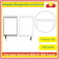 Wholesale Acer Iconia Tab Digitizer - For Acer Iconia A1-830 A1 830 And Tab 8 A1-840 And Tab A3-A10 A3 A11 Touch Screen Sensor Digitizer Front Outer Glass Lens Panel