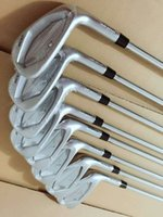 Juego De Golf G Baratos-Cindy New Shop Promotion JPX 900 Hierro de golf forjado Set 4-9, P, G Eje de acero Regular / Tieso Disponible