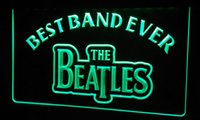 ingrosso best band ever-LS253-g Best Band Ever La luce al neon dei Beatles Sign.jpg
