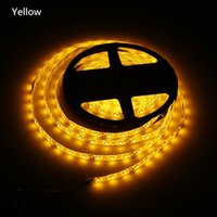 Wholesale High Intensity Waterproof - DC 12V 5 meters 300LED SMD 3528 RGB SMD LED Flexible LED Strip light 60L M waterproof with controller High intensity