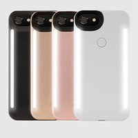 Wholesale Double Side Phone Case - Newest LED Light phone Cases Phone Double Sides Light Case For iphone 8 7 6 6s plus With Retail Package
