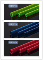Wholesale Tube Processor - Wholesale- 2PCS PETG rigid tube hard tube 10*14mm 500mm water cooling tube   pipe ID10mm OD14mm for water cooling system use. PG1410-L