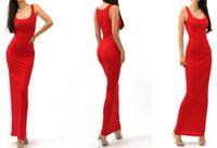 Wholesale Long Elegant Casual Maxi Dress - Long Dresses Vestidos Sexy Women Maxi Dress Solid O-neck Sleeveless Casual Dress Elegant Evening Party 2016 Summer Dress