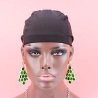 perruques élastiques achat en gros de-10pcs / lot livraison gratuite dôme casquettes pour faire des perruques sans colle ajustable doublure spandex filet élastique dôme cap