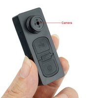 Caméra Vidéo Espion Bouton Pas Cher-Hot Sales 720P Mini Button Pinhole Enregistreur vidéo Spy Hidden Camera Portable Covert DVR Mini Cam Camcorder Pocket Mini DV Livraison gratuite