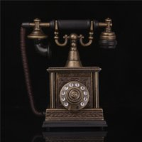 Wholesale Old Antique Telephones - Wholesale- The old telephone, antique model furnishing articles, craft gifts, creative flame cigarette lighter,Color carton packaging