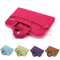 Wholesale Tote Handbags China - 11.6 13.3 15.4 inch Laptop Sleeve Handbag for Macbook Air 13 11 New 12 Notebook Bag Office Bussiness Travel Tote