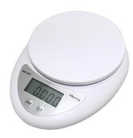 Wholesale Digital Weighing Scales 5kg - Kitchen Scales Household scales 200pc 5000g 5kg x 1g Digital Electronic Kitchen Weighing Scale Diet Food Balance #J103