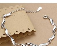 Wholesale Korean Couple Rings 925 - Jimei 925 silver couple bracelet wholesale Japanese and Korean students minimalist jewelry hypoallergenic shipping
