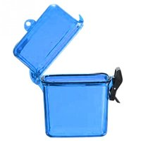 Multicolor Outdoor Swim Waterproof Plastic Container Stockage Case Key Money Box Card Holder
