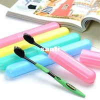 Wholesale Travel Toothbrush Covers - Fashion Hot Trendy Travel Hiking Camping Toothbrush Protect Holder Case Box Tube Cover